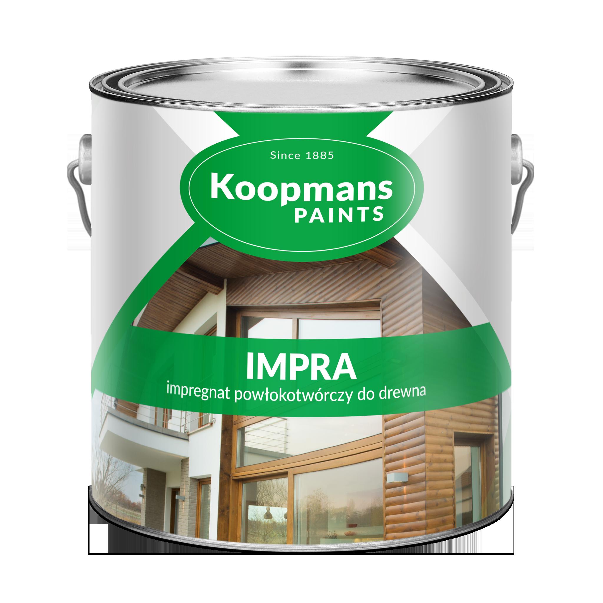 Puszka farby Koopmans Paints - impregant powłokotwórczy do drewna