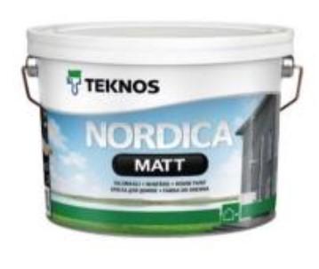 Puszka farby Teknos Nordica Matt