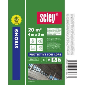 Scley ECO Folia 4x5m LDPE Strong 0,04mm