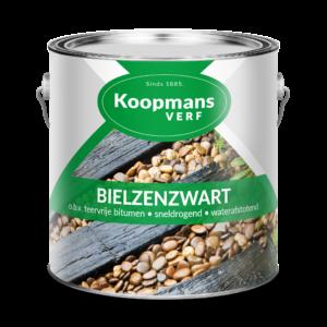 Puszka farby Koopmans VERF Bielzenzwart